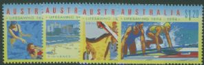 AUS SG1439-42 Centenary of Organised Life Saving in Australia set of 4